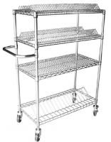 Surface Mount SMT Reel Shelving , Metal Wire Reel Storage With Carbon Steel