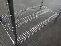 Conductive SMT Reel Shelving Trolley , Easy Movable Electronic Component Reel