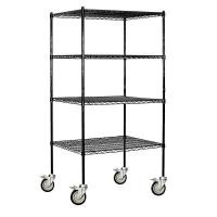 Metal Or SS Material Industrial Wire Shelving For Food Storage / Retail