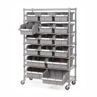 Restaurant Supplies Strorage Mobile Wire Utility Cart 7 Layer Adjustable Every