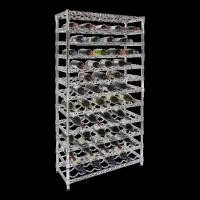 Style Selections Wire Shelving , Metal Wine Shelf With 12 Layer Shelf 108