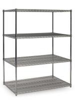 Heavy Duty Hygienic Coldroom Storage Shelving For Food Catering Facilities