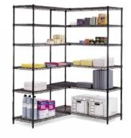 Carbon Steel Industrial Wire Shelving Extra Large Loading Capacity 800lbs Per