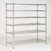 6 Tier Adjustable Industrial Wire Sheling Office Wire Racking Industrial Storage