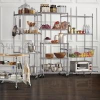 """12""""D Commercial Wire Shelving NSF Grade Kitchen Metal Storage Wire Rack Units"""