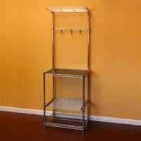 """Kitchen Kit 18""""D X 24""""W X 72""""H Mobile Wire Shelving Systems For Pantry"""
