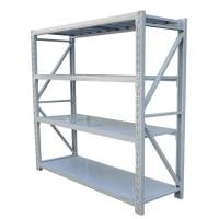 Four Tiers Wide Span Shelving Each Layer Loading Weight 150kg - 300kg