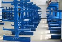 Single / Double Side Cantilever Bar Racks For Irregular Materials Fixed Mobility
