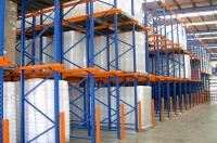 Equipped With Scissor Forklift Drive In Pallet Heavy Duty Steel Storage Racking