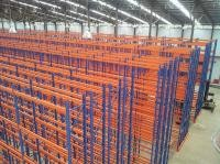 Steel Panel Large Capacity Double Deep Reach Racking for Packing Industry