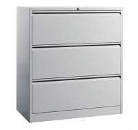 School Worker Storage Cabinet with Drawers Multiple White Color Sturdy