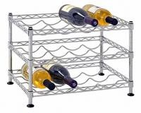 Classics Stackable Storage Holder Metal Wire Shelving Bar Display Stand Vintage