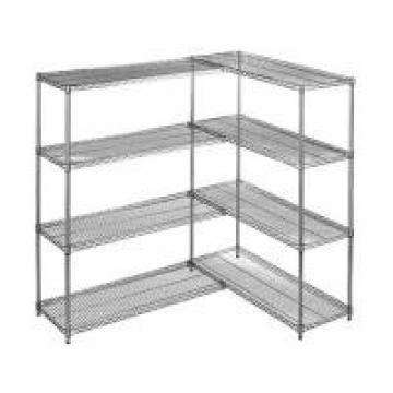 Heavy Duty Chrome Steel Industrial Wire Shelving 4 - Layers For Medicine Storage
