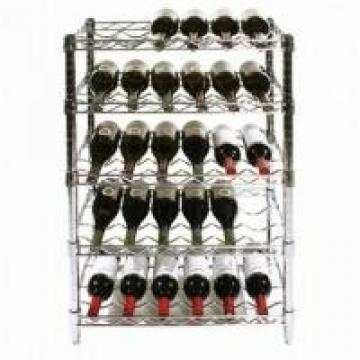 Adjustable Steel Wire Shelving With Coated Customizable Tires 800bls For Storage