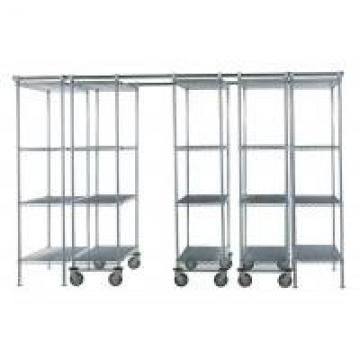"""86"""" High Cold Room Hygienic High Density Wire Shelving With Vented Shelves"""