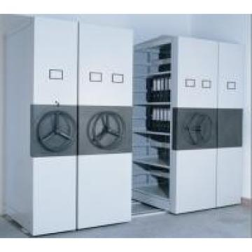 Mobile High Density Storage System For Box Archives & Legal Size Hanging Files