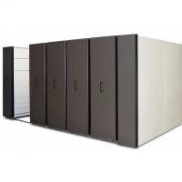 2 Bay Hand Pull Bulk Filing System High Density File Storage With Drawers For