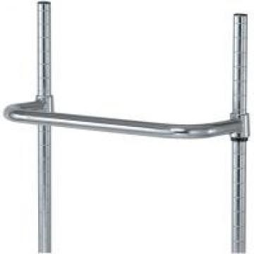 Wire Shelving Accessories Chrome - Plated Steel Utility Push Cart Handles