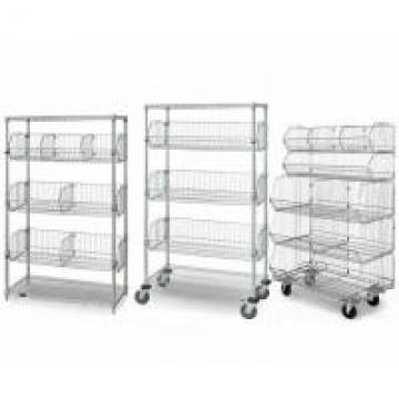5-Layer Chrome Finish Steel Wire Basket Unit With 7 Baskets Use In Restaurant