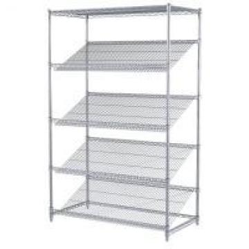 Chrome Plated Rack Commercial Metal Retail Display Wire Shelving Unit For Retail