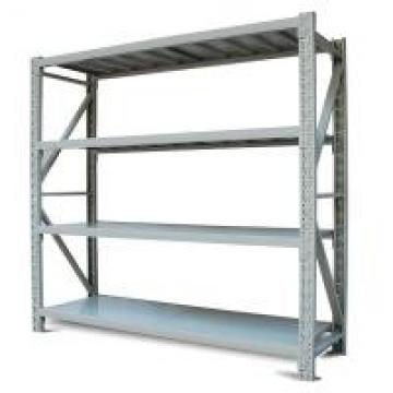 Grey 4 Levels Butterfly Commercial Metal Shelving Light Duty For Electronic