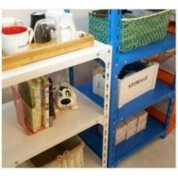 Mobile Wide Span Shelving , 75cm Height DIY Office Storage Small Boltless Metal