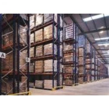 Warehouse Metal Selective Pallet Racking Paint And Varnish Custom Logo