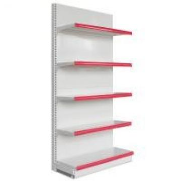 Steel Supermarket Display Racks Single Side And Double Side For Snacks