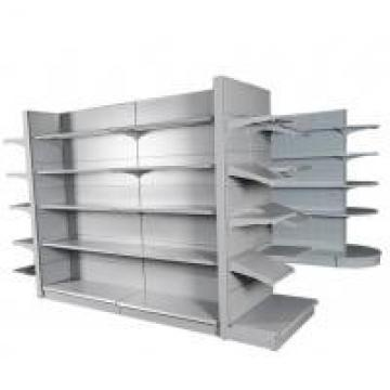 Grey White 5 Layers Metal Display Racks For Supermarket , Drug Store