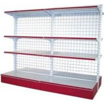 Cold Roll Steel Supermarket Display Racks Four Layers For Beverage