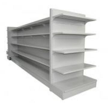 Metal Plate Supermarket Display Racks / Departmental Store Shelf For Daily