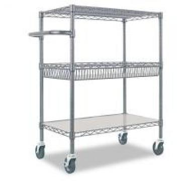 Cold Room & Frozen Storage Custom Metal Shelving Stainless Steel Trolley & Carts