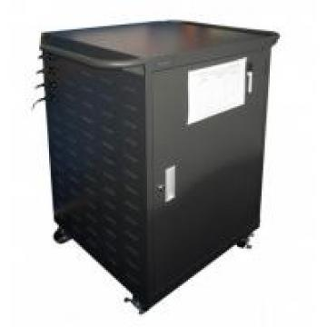 High Capacity Movable Laptop Tablet Storage & Charging Cart With Steel Material