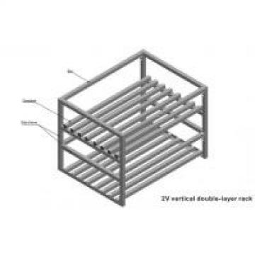 Custom Made Wire Shelving 2 Layers Foldable Double Deep Light Metal Shelving For