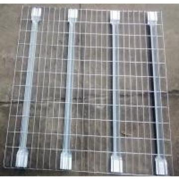 Galvanized Flared Shape Wire Mesh Decking Panels Euro Style RAL System