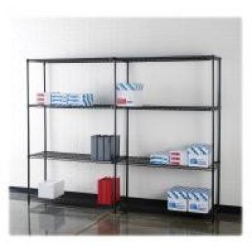 NSF Chrome Plated Wire Shelving , Steel Wire Storage Shelves 24 x 24 Inch