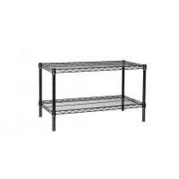 Hospital Industrial Wire Shelving , Pharmacy Storage Racks With 2 Tier Shelves