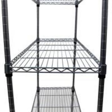 Durable 6 Tier Wire Storage Racks Movable In A Plant Growing Environment