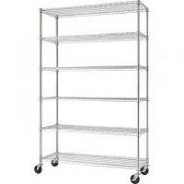 Zinc Mobile Storage Shelves For Biological Laboratory / 6 Tier Wire Rack