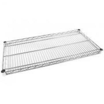 5 - Layers Galvanized Wire Shelving / Metal Storage Rack Unit For Hygiene Food