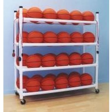 Ball Storage & Organizer Athletic Equipment Metal Mobile Cart Carriers OEM ODM