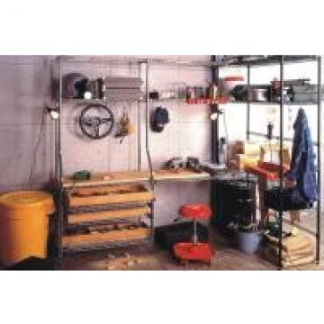 "21"" Depth Custom Garage Metal Storage Open Steel Wire Metal Shelving"