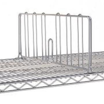 Commercial Wire Shelving Parts SS Or Steel Material Shelf Dividers