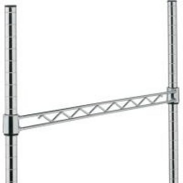 NSF Approved Wire Rack Parts Hanger Rails For More Strength