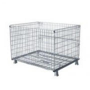 50x50 Wire Mesh Container Without Castors For Raw Material Storage