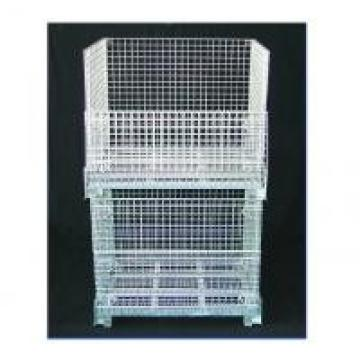 Anti - Corrosion Wire Mesh Container With High Capacity Zinc Or Hot Galvanized