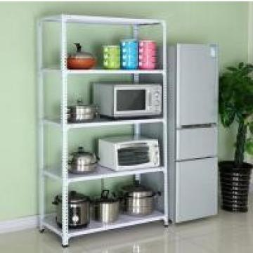 C Store Metal Display Boltless Steel Rack In White Color 150kg Per Level