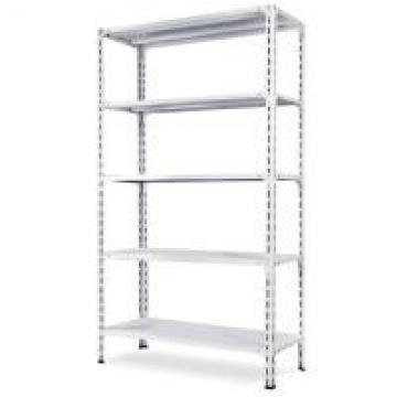 5 Tiers Wide Span Shelving , Family Household Angle Steel Boltless Rack In Beige