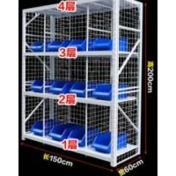 Four Tier Q235 Steel Pallet Shelving With Wire Decking For Garment