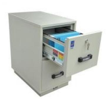 2 Hours Fire Rated Fire-Proof Security Metal Filing Cabinet And Drawers